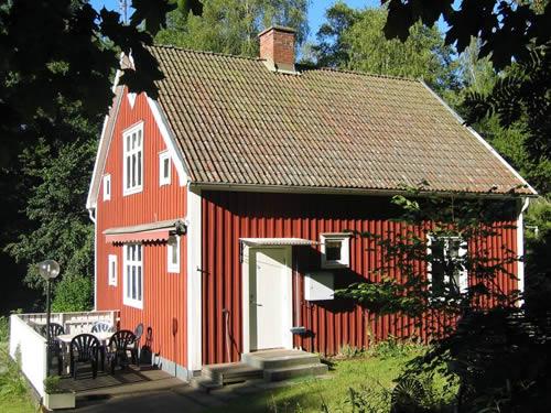 """Schweden - Smaland: Ferienhaus - Haus """"Rusken"""" - Terrasse"""