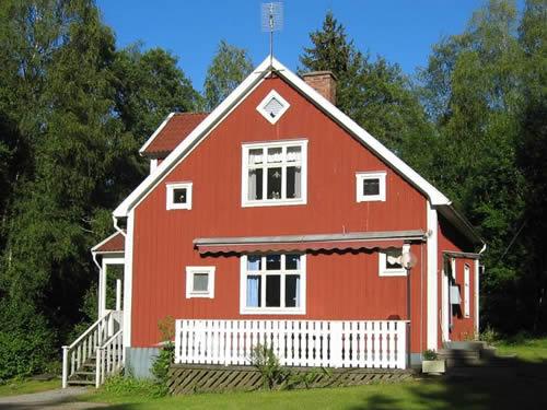 """Schweden - Smaland: Ferienhaus - Haus """"Rusken"""" - Aussenansicht"""