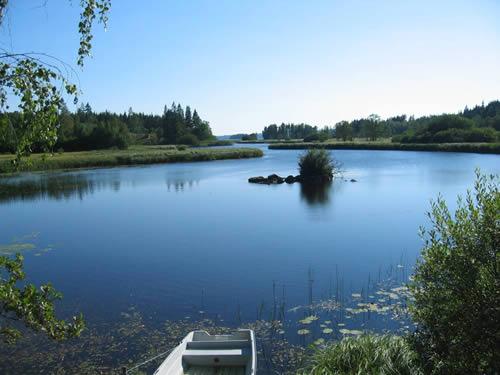 """Schweden - Smaland: Ferienhaus - Haus """"Rusken"""" - Ruskensee"""
