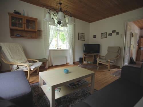 """Schweden - Smaland: Ferienhaus Am See - Haus """"Rusken"""" - Fernseher"""