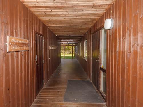 "Schweden - Smaland: Ferienhaus am See - Haus ""Skuggebo"" - Hausgang"