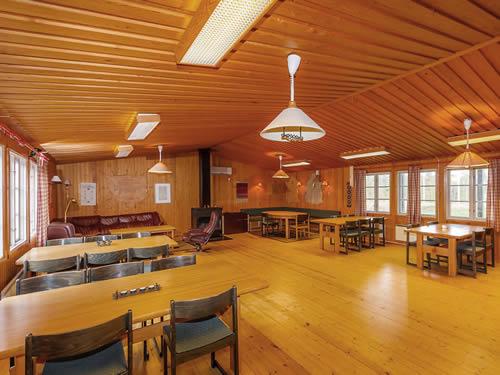 """Schweden - Smaland: Ferienhaus am See - Haus """"Skuggebo"""" - großer Gemeinschaftsraum"""