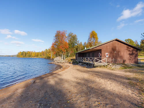 "Schweden - Smaland: Ferienhaus am See - Haus ""Skuggebo"" - Hausstrand am See"