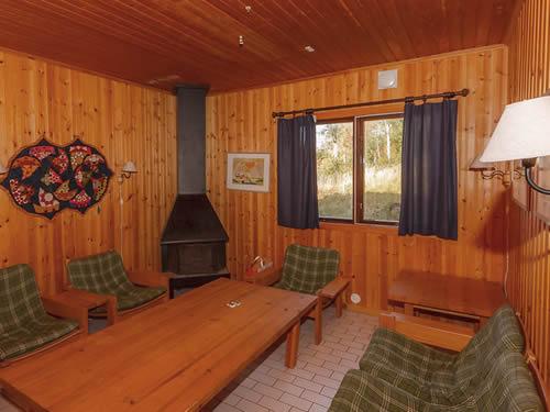 """Schweden - Smaland: Ferienhaus am See - Haus """"Skuggebo"""" - Wohnraum"""