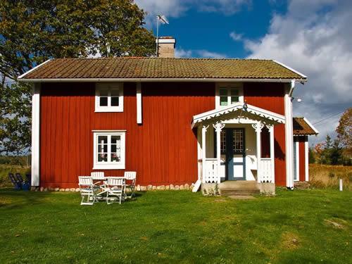 """Schweden - Smaland: Ferienhaus - Haus """"Smaland"""" - Außenansicht"""