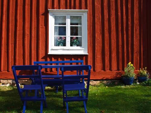 """Schweden - Smaland: Ferienhaus - Haus """"Smaland"""" - Gartenmöbel"""