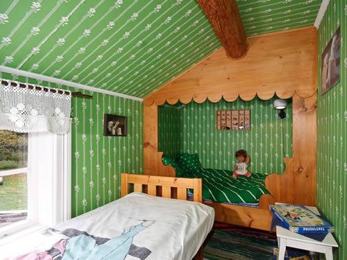 """Schweden - Smaland: Ferienhaus - Haus """"Smaland"""" - Schlafzimmer Kinder"""