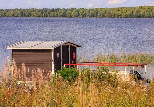 Hausboothütte Ulf