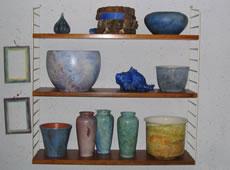 Keramik: Lyåsa Handwerk am Ruskensee in Smaland (Schweden) bei Barbro Carlsson