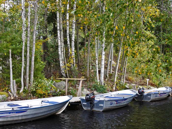 Schweden - Smaland: Angelcamp - Motorboote für Angler