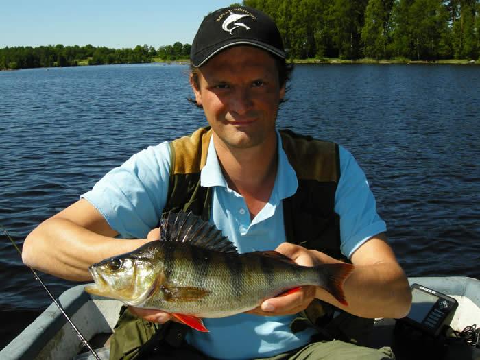 Schweden - Smaland: Angelcamp - Guter Fischfang