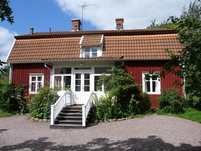 Das geburtshaus der schwedischen Kinderbuch-Autorin Astrid Lindgren in Vimmer / Smaland