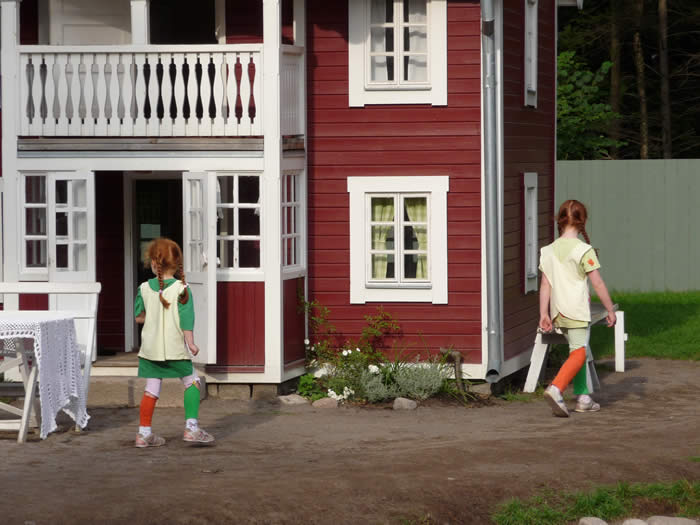 Erlebnispark Astrid Lindgrens Värld In Schweden - Smaland: Kleine Pippi Langstrumpf-Fans