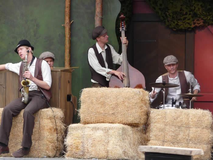 Erlebnispark Astrid Lindgrens Värld in Schweden - Smaland: Musik - Rasmus und der Landstreicher