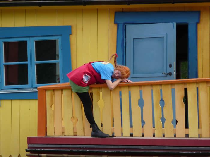 Pippi Langstrumpfs Villa Kunterbunt in Astrid Lindgrens Värld - Schweden - Smaland Park