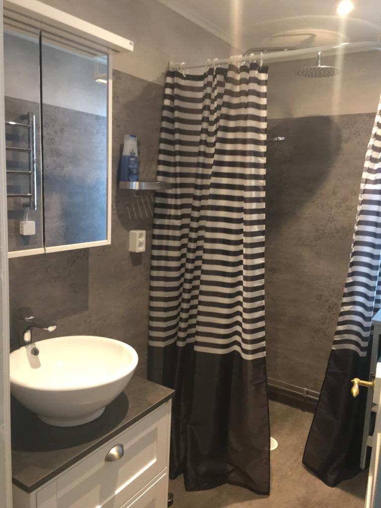 Neues Duschbad im Torp Staveryd