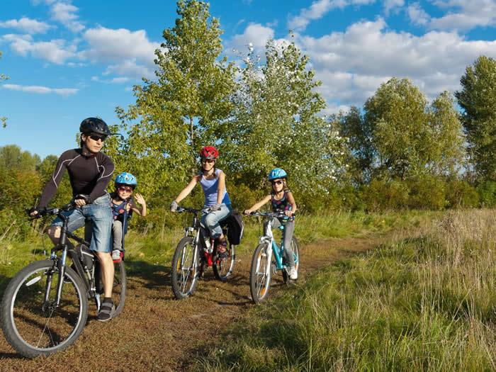 Schweden - Smaland: Fahrradtouren mit Familie