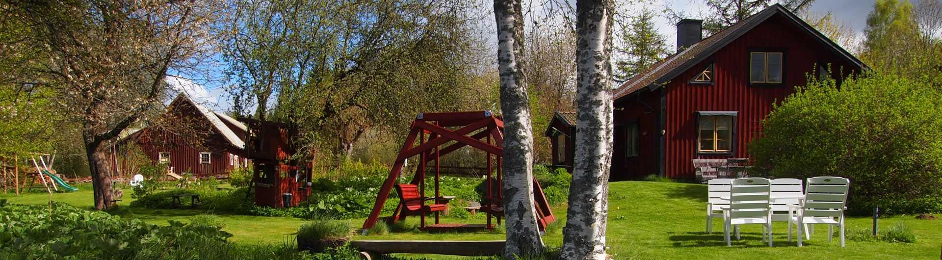 Schweden - Smaland: Ferienhaus am See - Haus