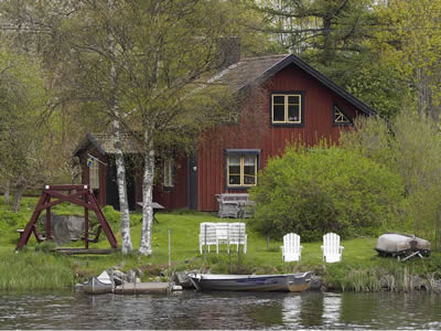 "Schweden - Smaland: Ferienhaus am See - Haus ""Troll"""