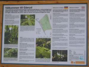 Schweden - Smaland: Gaeryd Naturreservat am Ruskensee