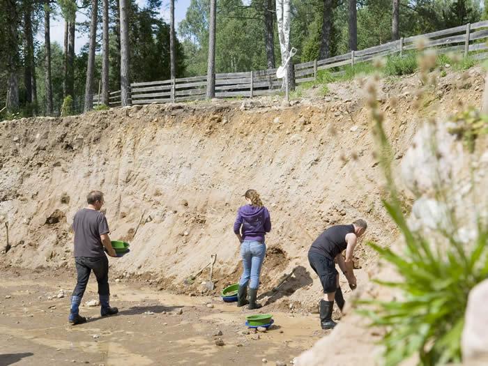 Smaland (Schweden): Goldwaschen / Goldschürfen In Ädelsfors - Geduld Ist Gefragt