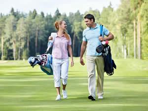 Aktiv-Urlaub mit Sport: Golf spielen in Schweden - Smaland