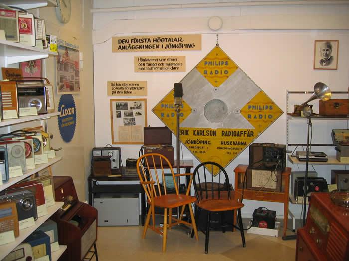 Schweden - Smaland: Radiomuseum Jönköping