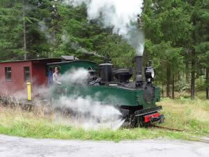 Ohs Ohsabanan - Historische Dampf-Lokomotive