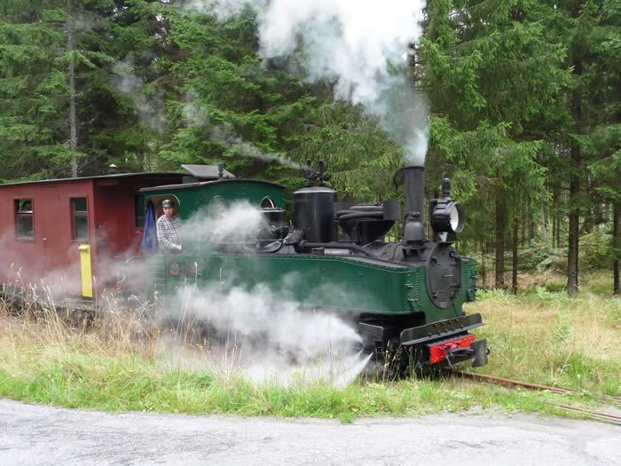 Schweden - Smaland: Ohs banan - historische Dampflokomotive