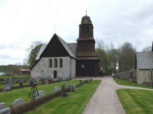 Schweden - Smaland: Kloster Nydala am Ruskensee