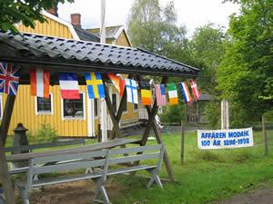 Schweden - Smaland: Ruskensee - Model Lanthandel