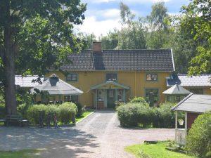 Schweden - Smaland: Kräutergarten ÖrtagÝrden am Ruskensee