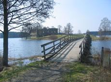 Schweden - Smaland: Brücke in Sävsjö