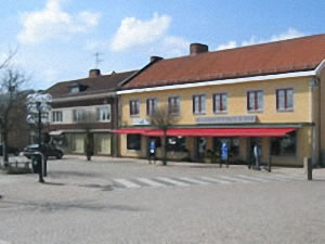 Schweden - Smaland: Stadt Sävsjö