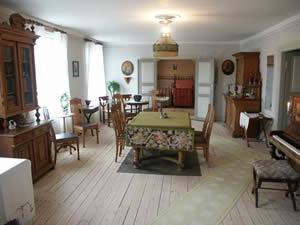 Schweden - Smaland: Bankmuseum in Sävsjö - Bankierswohnung