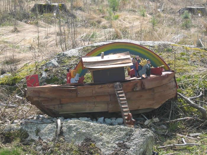 Schweden - Smaland: Sävsjö - Holzschnitzkunst Eva Spangberg