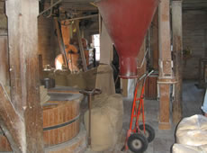 Schweden - Smaland: Sävsjö - Mühle in Komstad