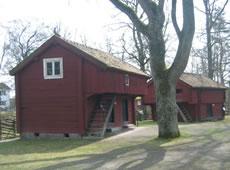 Schweden - Smaland: Värnamo - Holzhäuser im Freilichtmuseum Apladalen