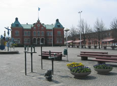 Schweden - Smaland: Värnamo Stadtzentrum