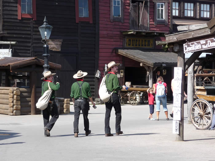 Westernstadt High Chaparral in Smaland - Schweden: Cowboys in der Stadt