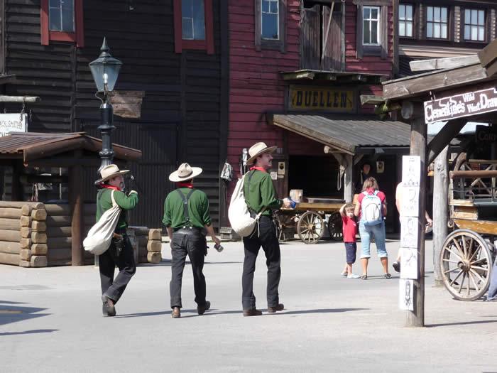 Westernstadt High Chaparral in Smaland - Schweden: Cowboys in der Stadt