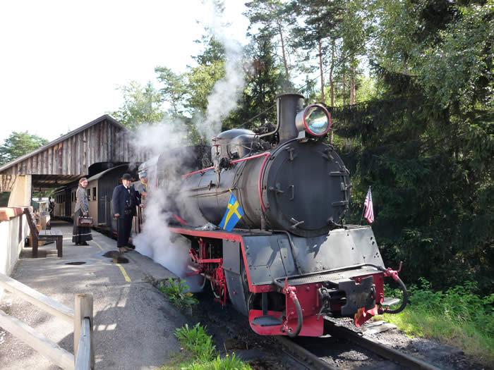 Westernstadt High Chaparral in Smaland - Schweden: Dampfeisenbahn