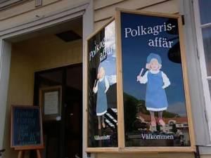 """""""Polkagris"""" Zuckerstangen aus Gränna in Smaland"""